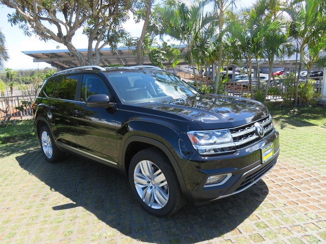 New 2019 Volkswagen Atlas 3.6L V6 SEL SUV in Honolulu Area