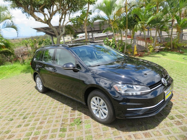 New 2018 Volkswagen Golf SportWagen S Wagon in Honolulu Area