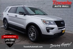 new 2019 Ford Explorer Sport SUV Tooele