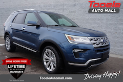 new 2019 Ford Explorer Limited SUV Tooele