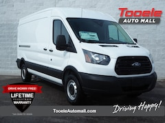 new 2019 Ford Transit-350 Base w/Sliding Pass-Side Cargo Door Van Medium Roof Cargo Van Tooele