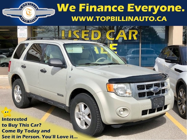 2008 Ford Escape XLT 3.0L 4WD, 2 Years Warranty SUV