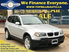 2005 BMW X3 2.5i AWD PANORAMIC SUNROOF 166K kms SUV