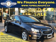 2015 Chevrolet Cruze LT Backup Cam, Bluetooth, Auto, Only 33K Sedan