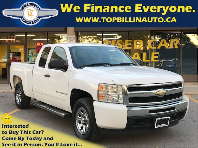 2009 Chevrolet Silverado 1500 4WD, 2 YEARS WARRANTY Truck Extended Cab