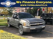 2009 Chevrolet Silverado 1500 4X4 with 2 YEARS WARRANTY Truck Extended Cab
