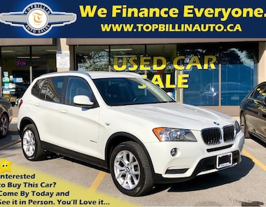 2013 BMW X3 xDrive28i with Only 93K kms SUV
