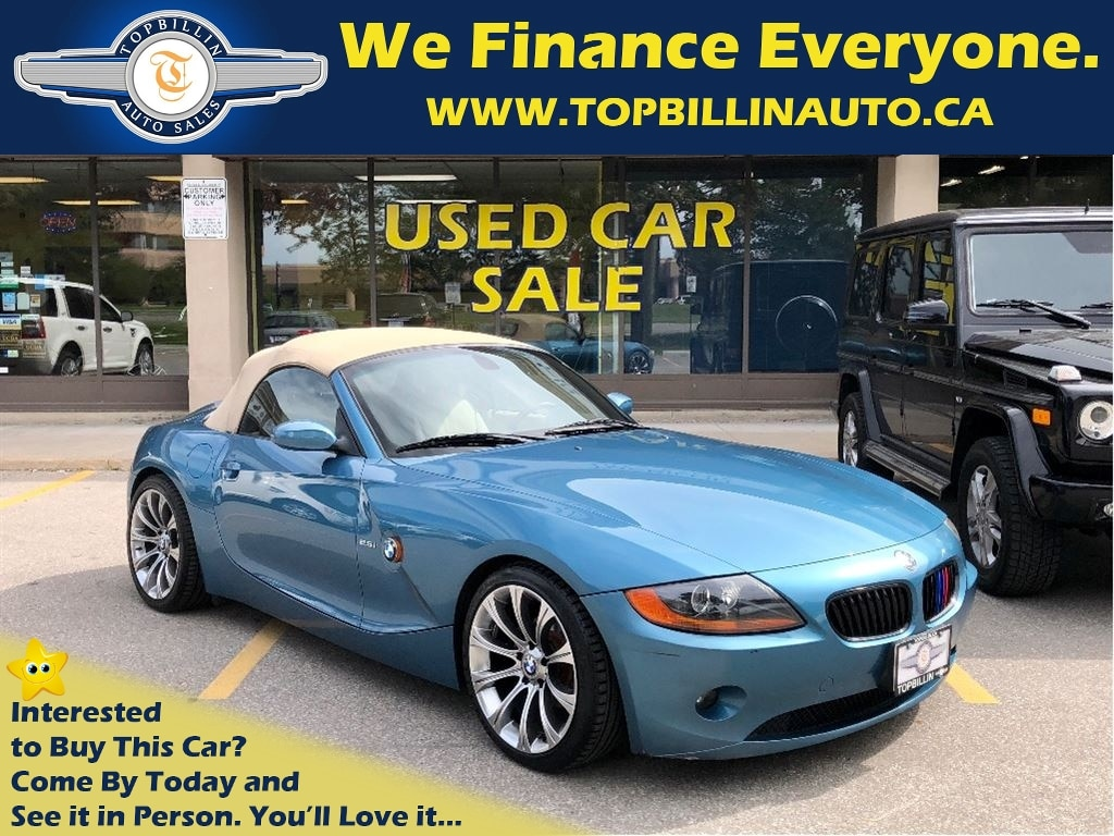 BMW Z4 Blue For Sale Used Cars Vaughan, Toronto ON   Topbillin Auto
