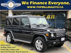 2011 Mercedes-Benz G-Class G550 4MATIC CLEAN CARPROOF SUV