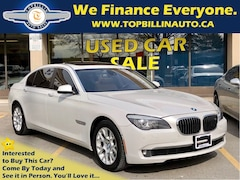 2011 BMW 7 Series Very Rare Super Luxury, Night Vision Sedan