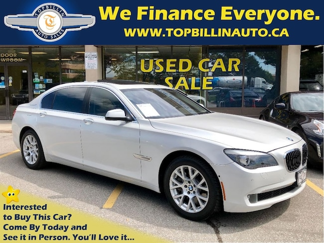 2011 BMW 7 Series Pearl White, HUD, Night Vision Sedan