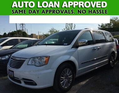 2013 Chrysler Town & Country LIMITED   LEATHER   STOWNGO   ONLY 87K Van