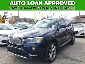 2015 BMW X3 Xdrive28i | AWD | LEATHER | LOADED