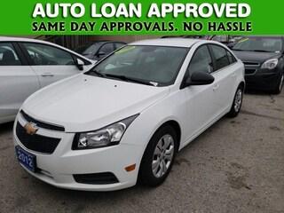 2012 Chevrolet Cruze LS | WE FINANCE ALL MAKES AND MODELS Sedan