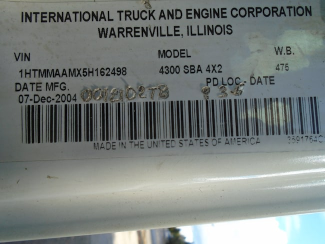 Used 2005 INTERNATIONAL 4300 For Sale at TORONTO AUTO SALES
