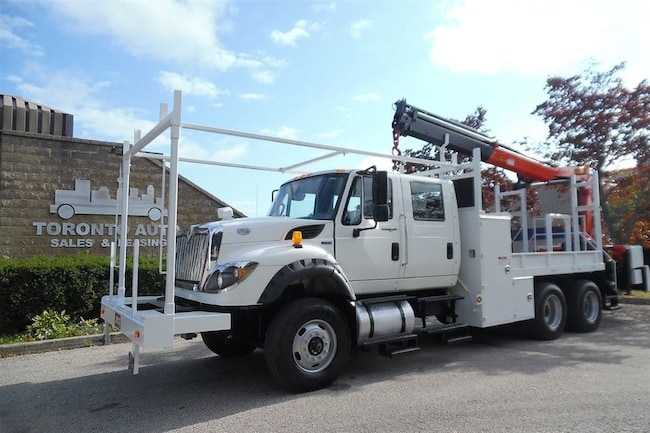 2012 INTERNATIONAL 7600 Workstar ONLY 53485km,Palfinger crane,Tandem.