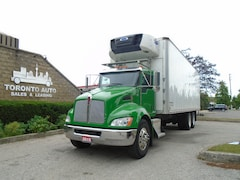 2015 KENWORTH T370 Clean Insulated,Refrigerated,Tandem,Automatic.