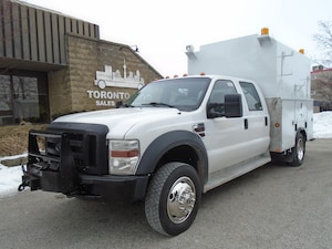 2009 FORD F450 Crew Cab 9Ft.Service Body,4X4.