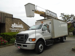 2012 FORD F650 Aerial Ladder/Bucket,Cummins ,Regular licence.