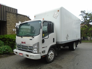 2008 GMC W5500 Isuzu Diesel,18ft Fglass box,Liftgate.