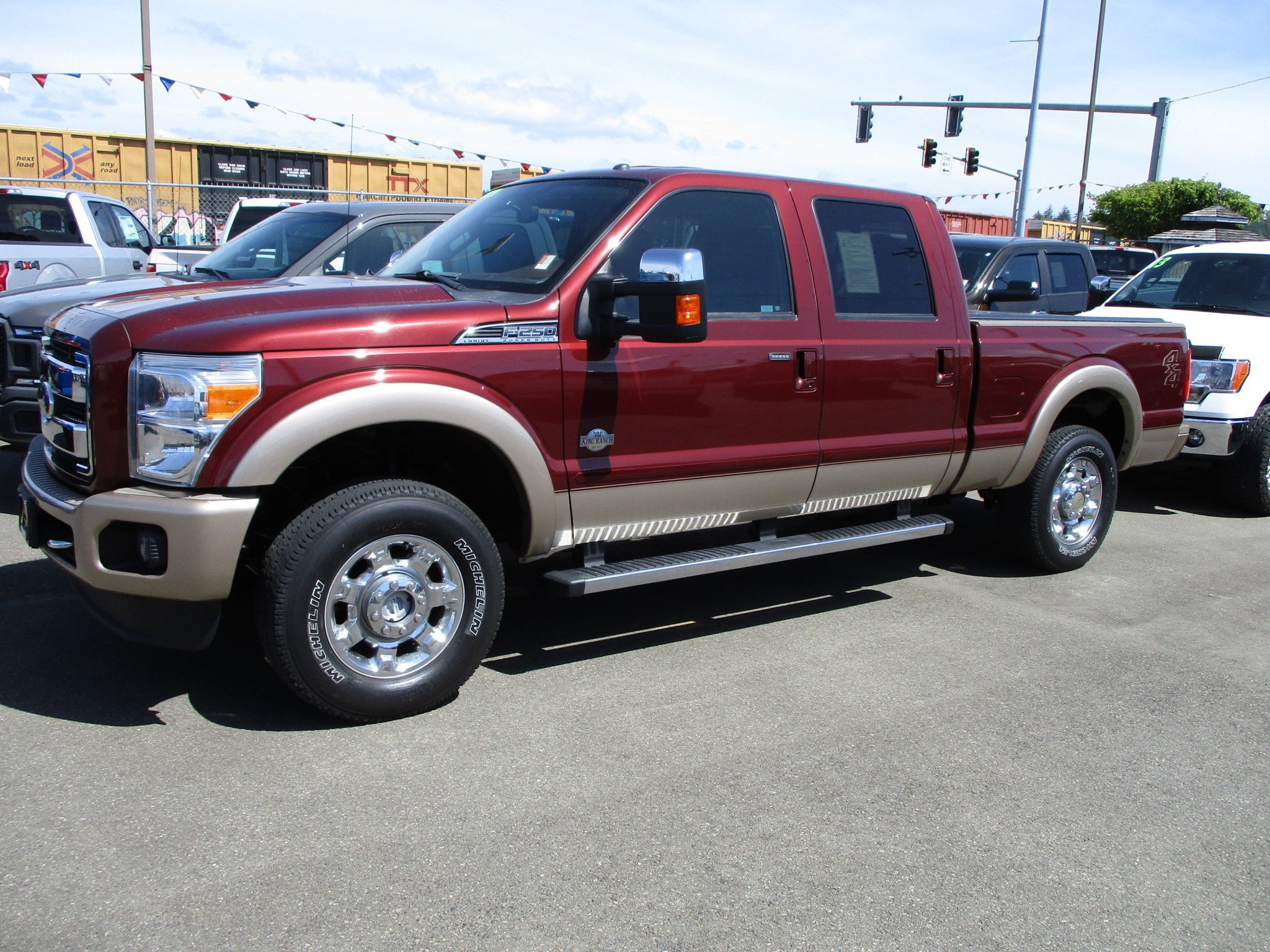 2012 Ford F250 Super Duty PICKUP
