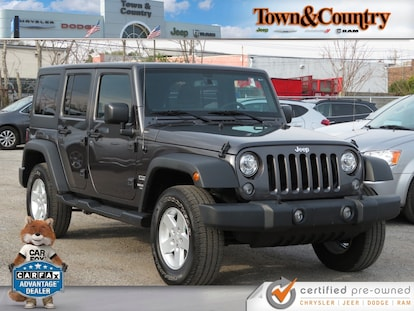 Used 2017 Jeep Wrangler Unlimited Sport For Sale