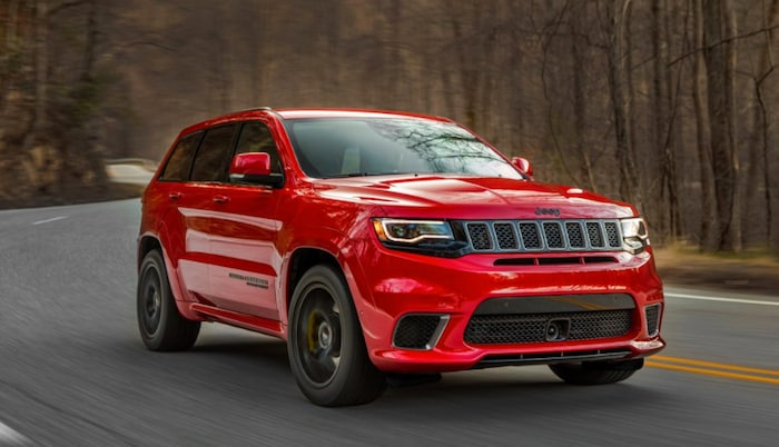 2018 Jeep Grand Cherokee Trackhawk available in Long Island