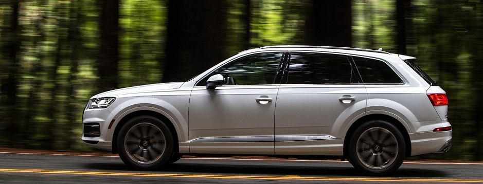 Redesigned Three-Row Audi SUV