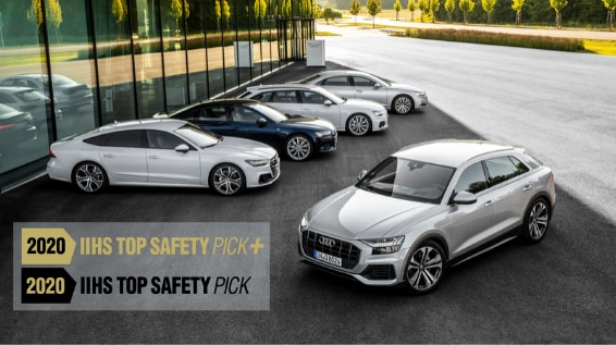 Multiple 2020 Audi Models Earn IIHS Top Safety Pick Awards