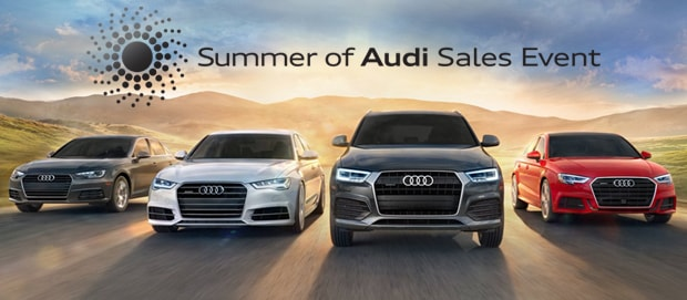 The 2017 Summer Of Audi Sales Event Is On Now Town Audi