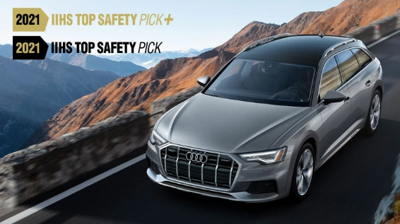 8 Audi Models Receive 2021 IIHS Top Safety Pick Awards