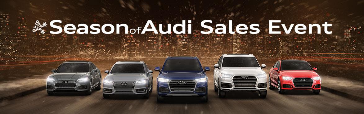2018 Season of Audi Sales Event