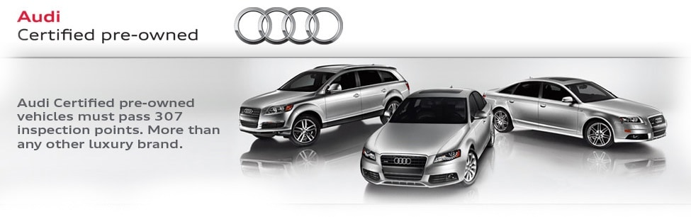 Audi Certified Pre Owned >> Town Audi Shop Audi Certified Pre Owned