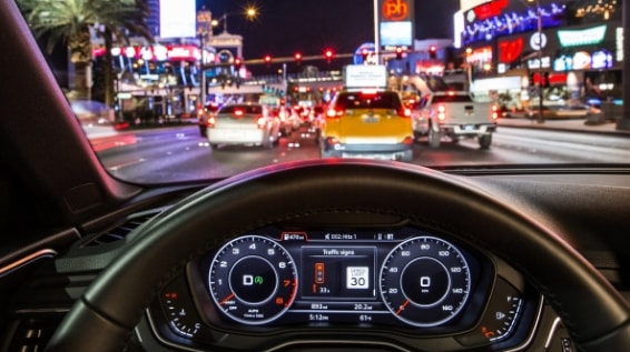 Audi's Traffic Light Information Now Available in New York
