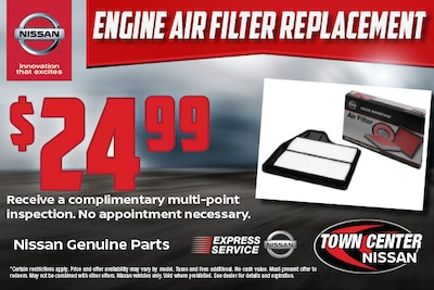 Engine Air Filter Replacement