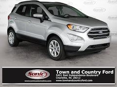 New 2018 Ford EcoSport SE SUV for sale in Charlotte, NC