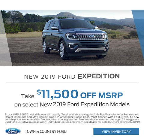 2019 Ford Expedition Purchase Special