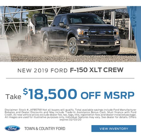 2019 Ford F-150 Purchase Special