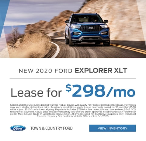 2020 Ford Explorer Lease Specials