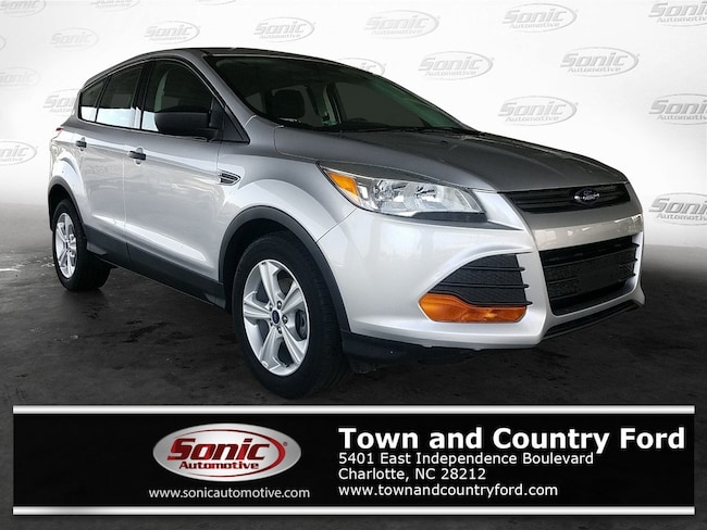Used 2016 Ford Escape S FWD 4dr SUV for sale in Charlotte, NC