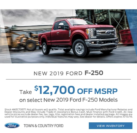 2019 Ford F-250 Purchase Special