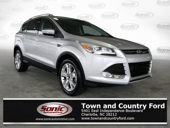 Used 2016 Ford Escape Titanium FWD 4dr SUV for sale in Charlotte, NC
