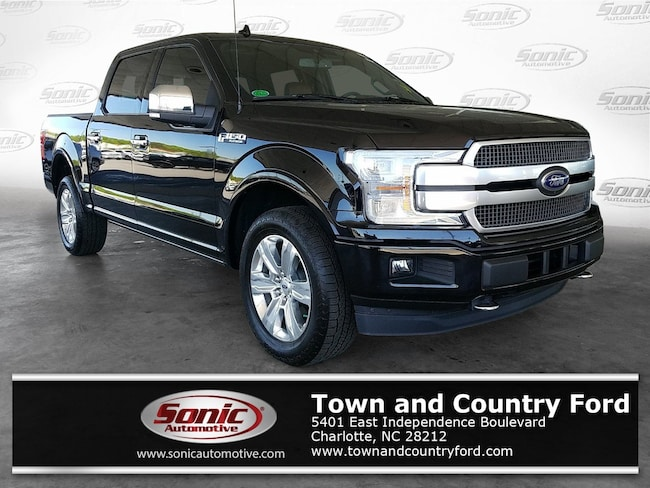 New 2019 Ford F-150 Platinum (Platinum 4WD SuperCrew 5.5 Box) Truck SuperCrew Cab for sale in Charlotte, NC