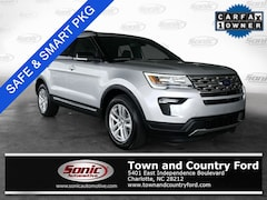 Used 2018 Ford Explorer XLT SUV for sale in Charlotte, NC