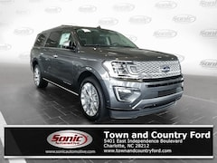New 2019 Ford Expedition Max Platinum SUV for sale in Charlotte, NC