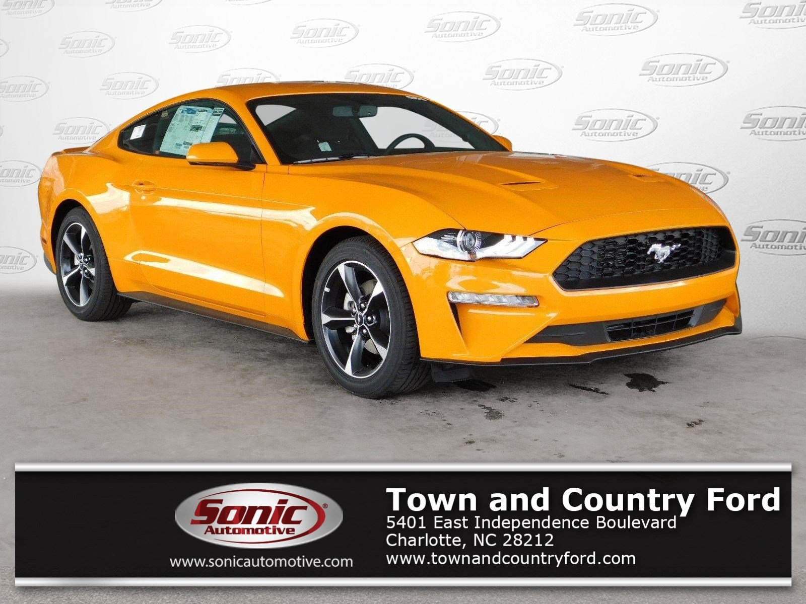 2018 Ford Mustang EcoBoost (EcoBoost Fastback) Coupe