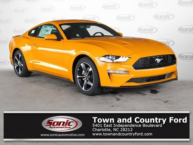 New 2018 Ford Mustang EcoBoost (EcoBoost Fastback) Coupe for sale in Charlotte, NC