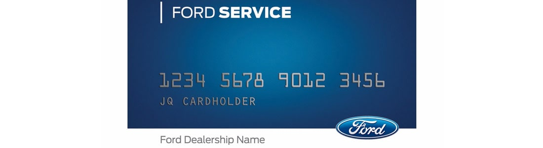 Ford Service Credit Card - Service Your Car Today at Fort Mill Ford in Fort Mill, SC
