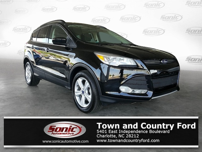 Used 2016 Ford Escape SE FWD 4dr SUV for sale in Charlotte, NC