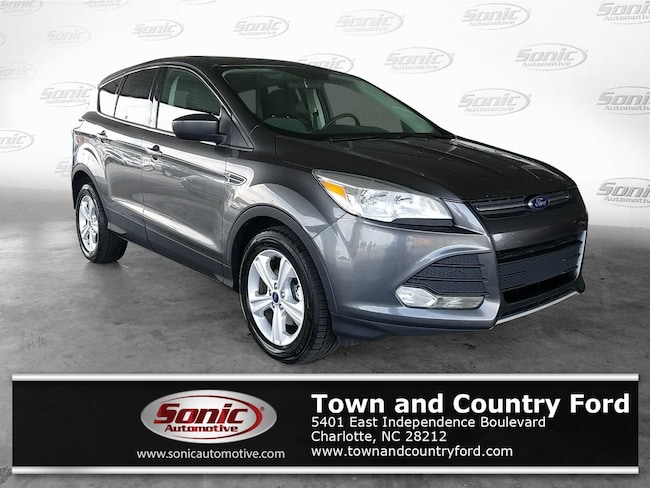 Used 2015 Ford Escape SE FWD 4dr SUV for sale in Charlotte, NC